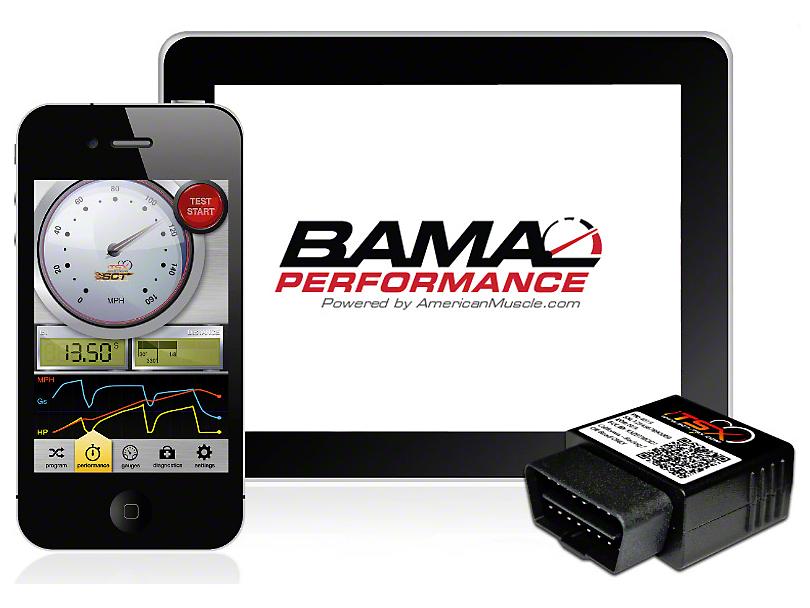 Bama iTSX Wireless Tuner with 2 Custom Tunes (13-14 GT500)