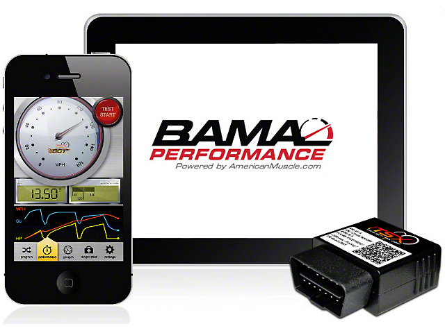 Bama iTSX Wireless Tuner with 2 Custom Tunes (99-01 Cobra; 03-04 Mach 1)
