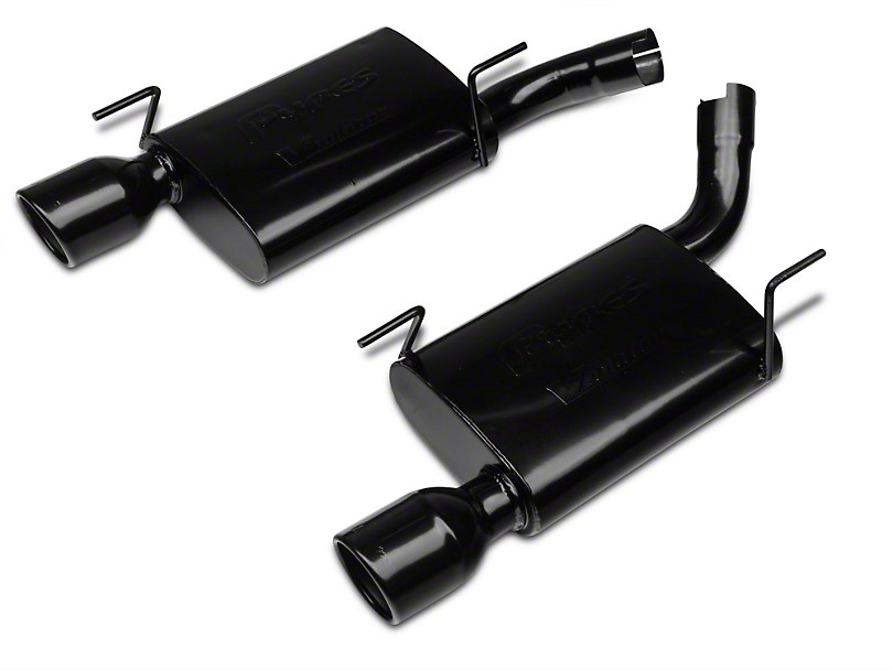 Pypes Violator Axle-Back Exhaust - Black (05-10 GT, GT500)