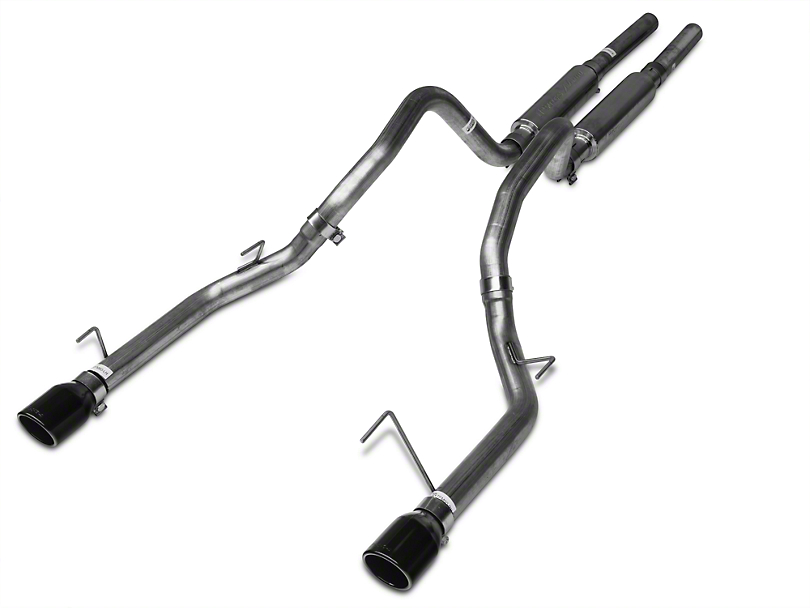 Pypes Mid-Muffler Cat-Back Exhaust w/ Black Tips (05-10 GT)