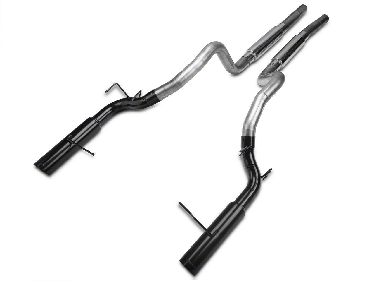 Pypes Pype-Bomb Super System Cat-Back Exhaust w/ Black Tips (11-14 GT)