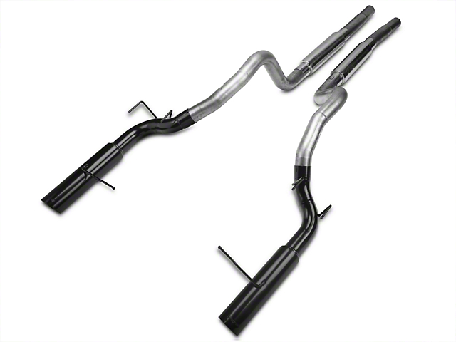 Pypes Pype-Bomb Super System Cat-Back Exhaust w/ Black Tips (11-14 GT)