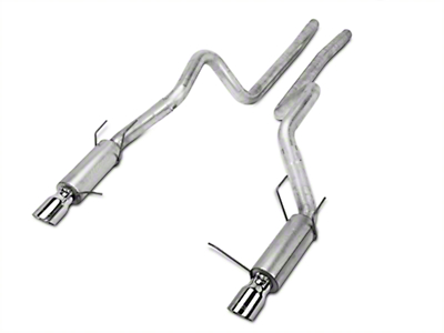 MBRP Race Series Cat-Back Exhaust - Aluminized (11-14 GT)