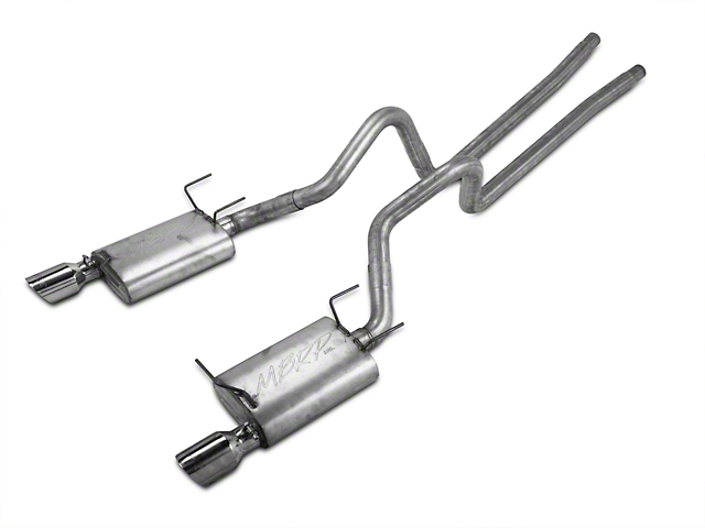 MBRP Installer Series Cat-Back Exhaust (11-14 V6)