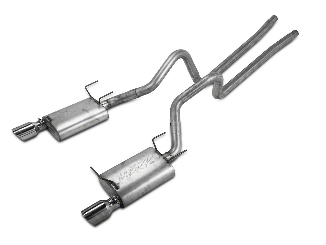 MBRP Cat-Back Exhaust - Aluminized (11-14 V6)