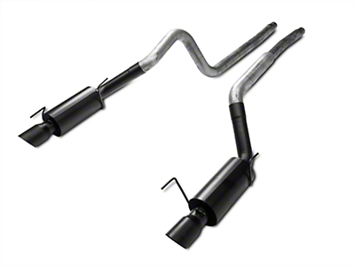 MBRP Black Series Cat-Back Exhaust - Street Version (05-09 GT; 07-10 GT500)