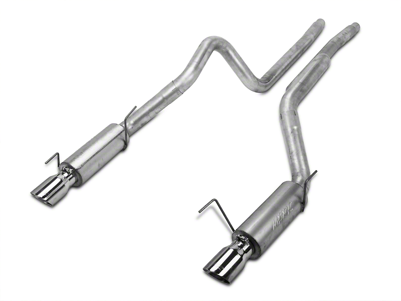 MBRP Race Cat-Back Exhaust - Aluminized (05-09 GT; 07-10 GT500)