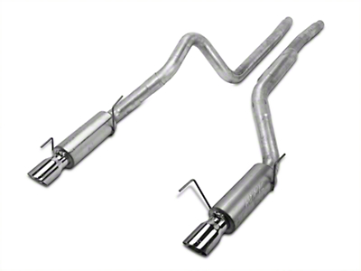 MBRP Installer Series Cat-Back Exhaust - Race Version (05-09 GT; 07-10 GT500)