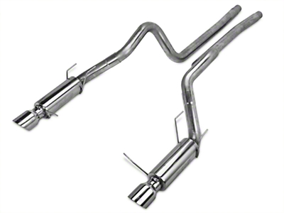 MBRP 3 in. Race Series Cat-Back Exhaust - 409 Stainless (11-12 GT500)