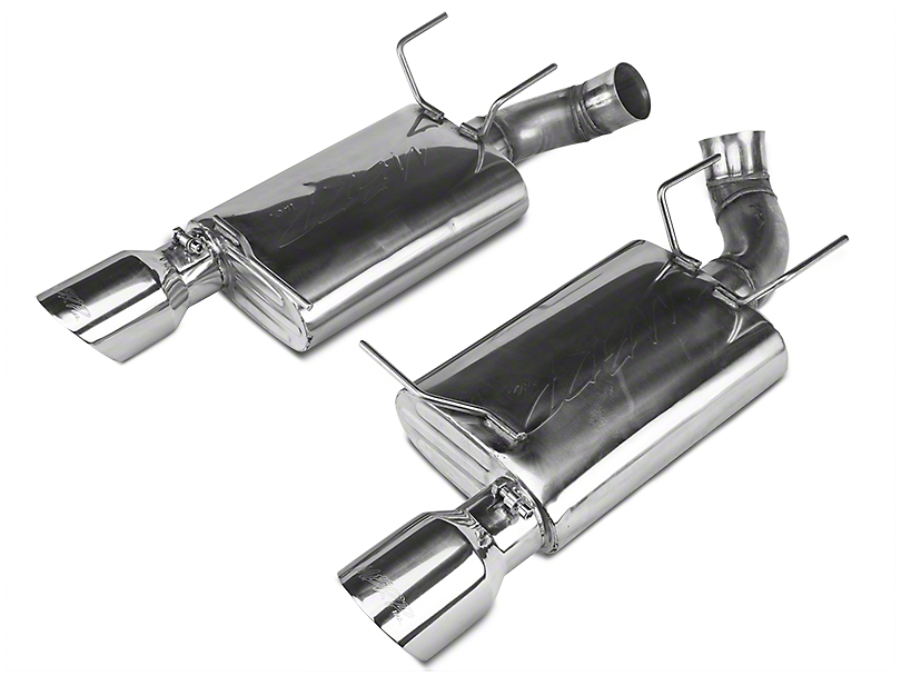 MBRP Pro-Series Axle-Back Exhaust - Stainless Steel (11-12 GT500)