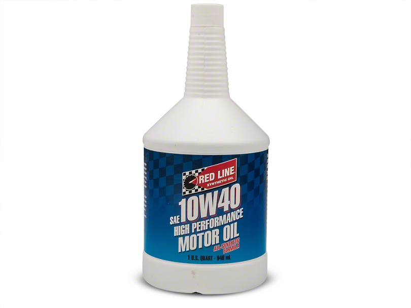 Red Line Synthetic 10w40 Motor Oil