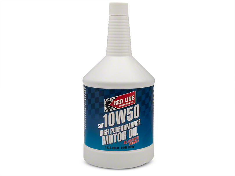 Red Line Synthetic 10w50 Motor Oil