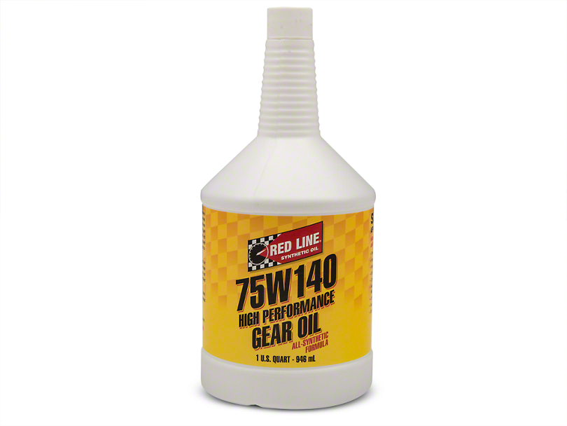 Red Line Synthetic 75w140 Gear Oil
