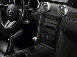American Muscle Graphics Carbon Fiber Dash Overlay Kit (05-09 All)