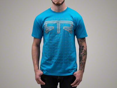 RTR Fade T-Shirt - Blue (XX-Large)
