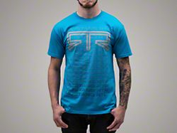 RTR Fade T-Shirt - Blue (Small)