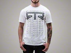 RTR Fade T-Shirt - White (Medium)