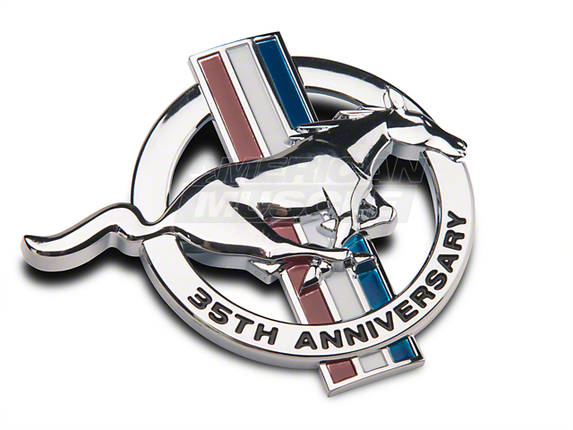 Ford 35th Anniversary Fender Emblem - Passenger Side (99 All)