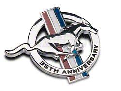 Ford 35th Anniversary Fender Emblem; Passenger Side (1999 All)