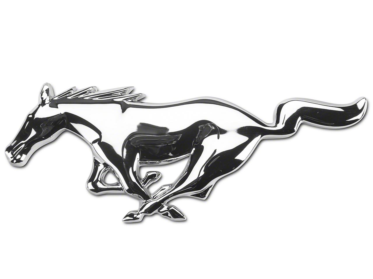Ford Running Pony Grille Emblem (05-09 GT, V6)