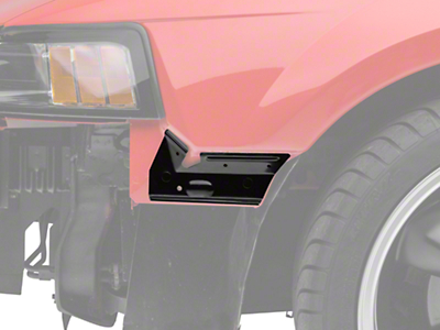 Ford Front Fascia to Fender Bracket - Left Side (99-04 All)
