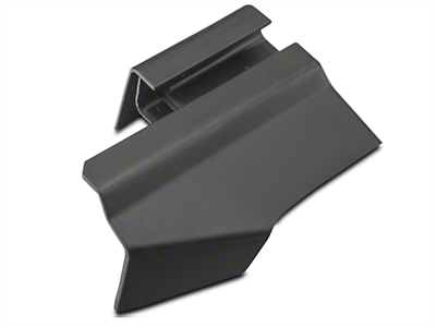 Ford Outer Rear Driver Seat Track Cover - Charcoal (05-14 All)