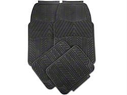 Alterum 4-Piece All Weather Floor Mat Set - Black (79-14 All)