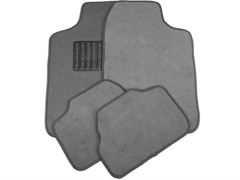 TruShield 4-Piece Fabric Floor Mat Set - Gray (79-14 All)