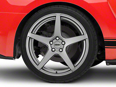 MMD Sinn Charcoal Wheel - 20x10 (15-18 All)