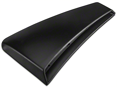 Ford Quarter Panel Side Scoop - Left Side - Unpainted (01-04 GT; 03-04 Mach 1; 03-04 Cobra)