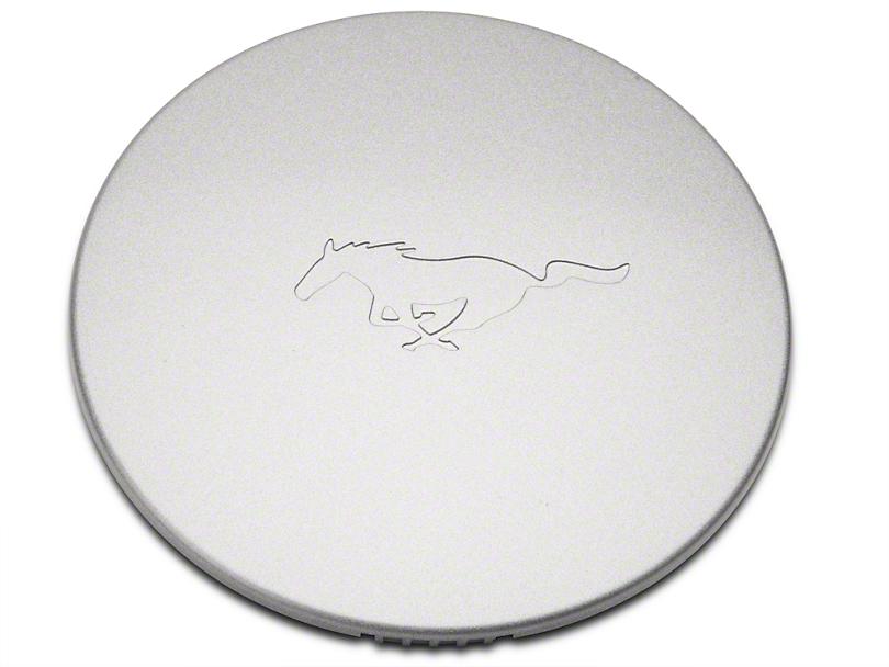 Ford V6 Wheel Center Cap - Silver w/ Pony Logo (99-04 V6)