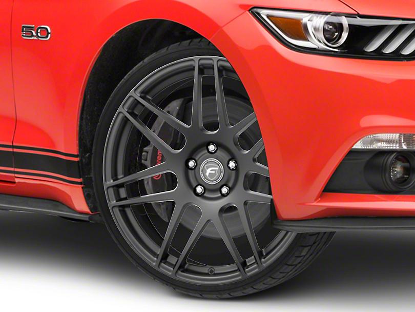 Forgestar F14 Monoblock Matte Black Wheel - 20x9.5 (15-19 GT, EcoBoost, V6)