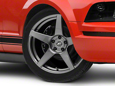Forgestar CF5 Monoblock Gunmetal Wheel - 19x9.5 (05-14 All)
