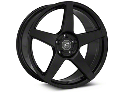 Forgestar CF5 Monoblock Piano Black Wheel - 19x9.5 (05-14 All)