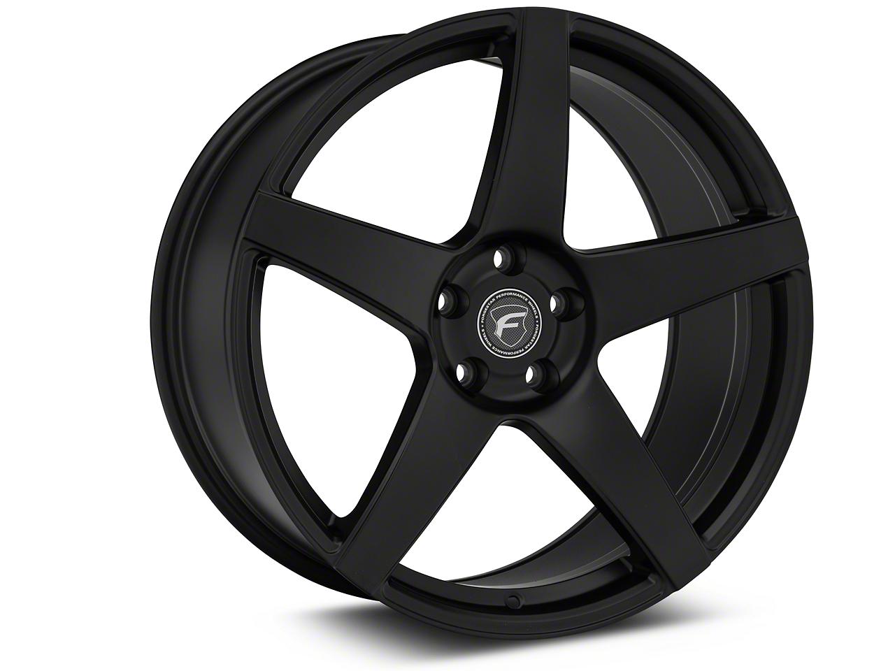 Forgestar CF5 Monoblock Matte Black Wheel - 20x9.5 (15-19 GT, EcoBoost, V6)