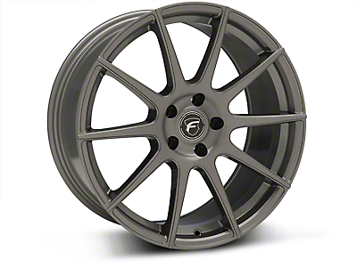 Forgestar CF10 Monoblock Gunmetal Wheel - 19x9.5 (05-14 All)