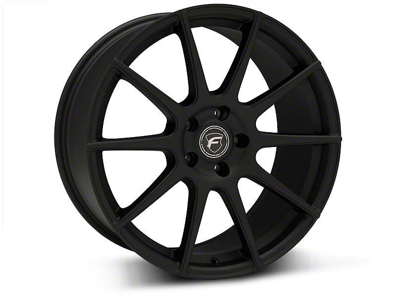 Forgestar CF10 Monoblock Textured Matte Black Wheel - 19x9.5 (05-14 All)