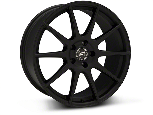 Forgestar CF10 Monoblock Textured Matte Black Wheel - 19x9.5 (15-17 All)