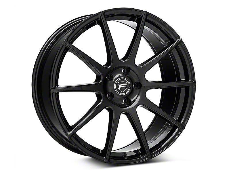 Forgestar CF10 Monoblock Piano Black Wheel - 20x9.5 (05-14 All)
