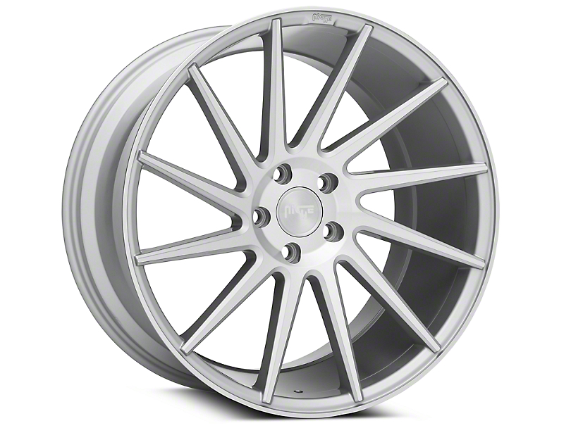 Niche Surge Silver Machined Directional Wheel - Passenger Side - 20x10.5 (05-14 All)