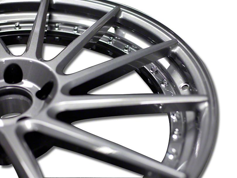 Niche Surge Double Dark Directional Wheel - Driver Side - 20x10 (15-17 All)