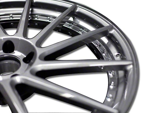 Niche Surge Double Dark Directional Wheel - Driver Side - 20x10 (15-18 All)