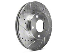 Power Stop Evolution Cross-Drilled and Slotted Rotors; Front Pair (94-04 GT, V6)
