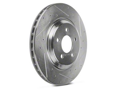 Add Power Stop Evolution Cross-Drilled & Slotted Rotors - Front Pair (94-04 Bullitt, Mach 1, Cobra)