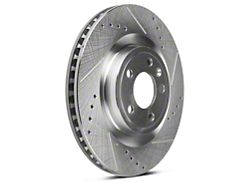 Power Stop Evolution Cross-Drilled & Slotted Rotors - Front Pair (11-14 Standard GT)