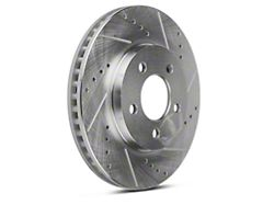 Power Stop Evolution Cross-Drilled and Slotted Rotors; Front Pair (05-10 V6)