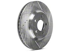 Power Stop Evolution Cross-Drilled and Slotted Rotors; Front Pair (05-10 GT; 11-14 V6)
