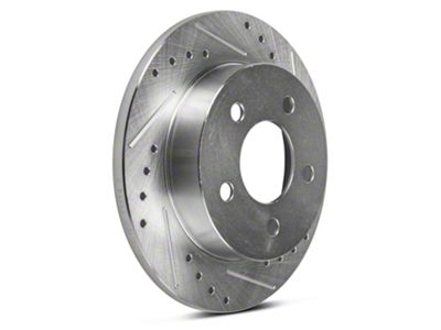 Power Stop Evolution Cross-Drilled & Slotted Rotors - Rear Pair (94-04 GT, V6)