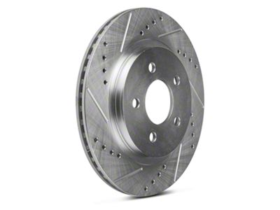 Power Stop Evolution Cross-Drilled & Slotted Rotors - Rear Pair (05-14 All, Excluding 13-14 GT500)