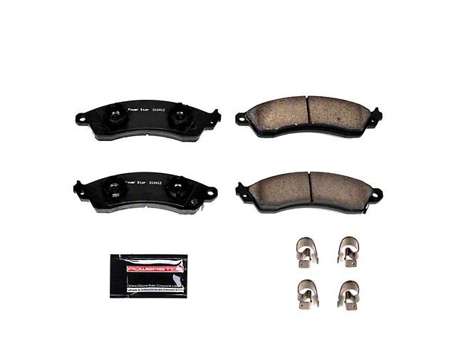 Power Stop Z23 Evolution Sport Carbon-Fiber Ceramic Brake Pads; Front Pair (94-04 Cobra, Bullitt, Mach 1)